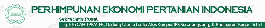 Perhimpunan Ekonomi Pertanian Indonesia – PERHEPI –